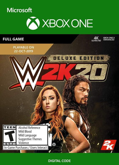WWE 2K20 (Deluxe Edition) (Xbox One) Xbox Live Key UNITED STATES