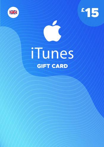 Apple iTunes Gift Card 15 GBP iTunes Key UNITED KINGDOM