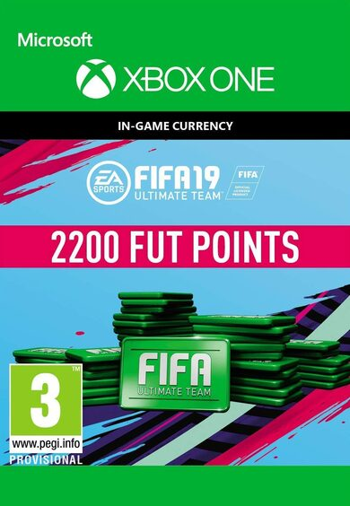 FIFA 19 - 2200 FUT Points (Xbox One) Xbox Live Key GLOBAL