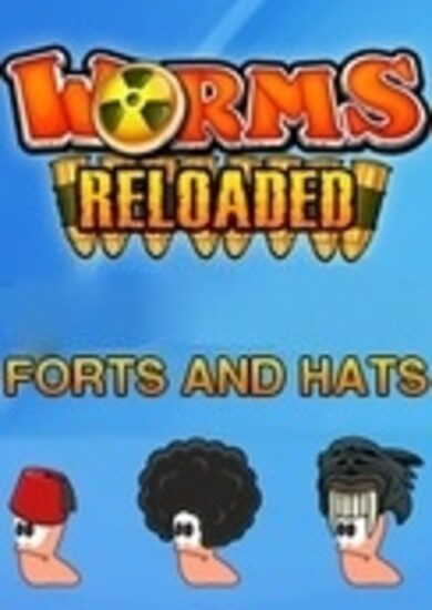 Worms Reloaded - Forts and Hats Pack (DLC) Steam Key GLOBAL