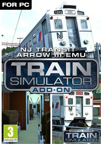 Train Simulator: NJ TRANSIT Arrow III EMU (DLC) Steam Key GLOBAL