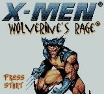X-Men: Wolverine's Rage Game Boy Color