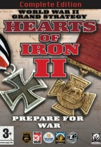 Hearts of Iron 2 Complete Steam Key GLOBAL