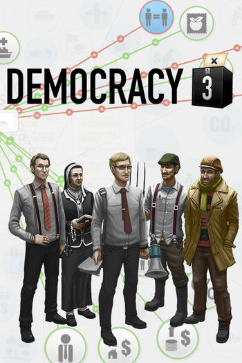 Democracy 3 Steam Key GLOBAL