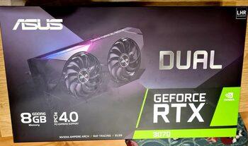 Asus GeForce RTX 3070 8 GB 1500-1755 Mhz PCIe x16 GPU