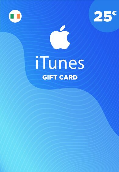 Apple iTunes Gift Card 25 EUR iTunes Key IRELAND