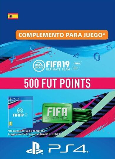 FIFA 19 - 500 FUT Points (PS4) PSN Key SPAIN