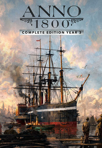 Anno 1800 Complete Edition Year 3 Uplay Key EUROPE