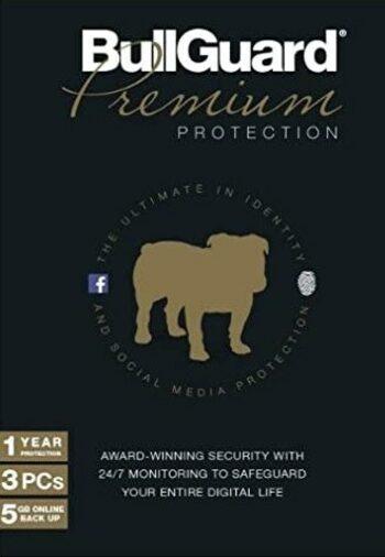 BullGuard Premium Protection 1 Device 3 Years BullGuard Key GLOBAL