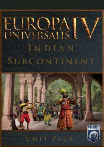 Europa Universalis IV - Indian Subcontinent Unit Pack (DLC) Steam Key GLOBAL