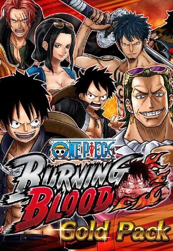 One Piece Burning Blood Gold Pack (DLC) Steam Key GLOBAL