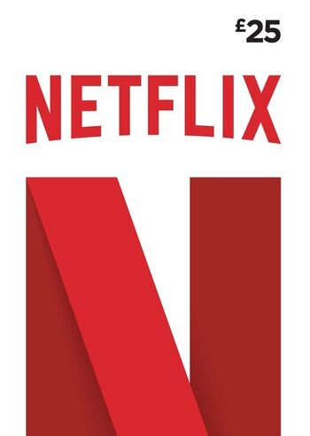 Netflix Gift Card 25 GBP Key UNITED KINGDOM