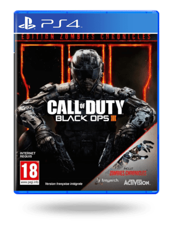 Call of Duty: Black Ops III Zombies Cronicles Edition PlayStation 4