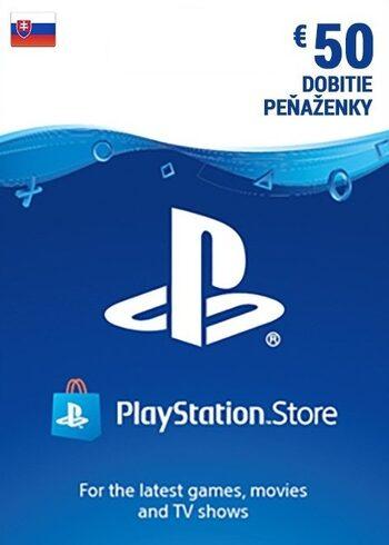 PlayStation Network Card 50 EUR (SK) PSN Key SLOVAKIA