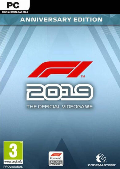 F1 2019 Anniversary Edition Steam Key GLOBAL
