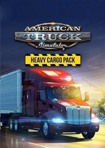 American Truck Simulator - Heavy Cargo Pack (DLC) Steam Key GLOBAL