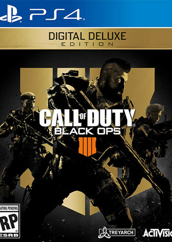 Call of Duty: Black Ops 4 - Digital Deluxe (PS4) PSN Key UNITED STATES