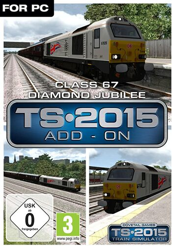 Train Simulator: Class 67 Diamond Jubilee Loco (DLC) Steam Key GLOBAL