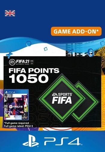 FIFA 21 - 1050 FUT Points (PS4) PSN Key UNITED KINGDOM