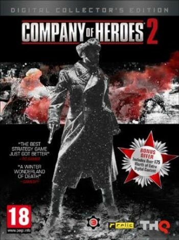 Company of Heroes 2 - Digital Collector's Edition Steam Key GLOBAL