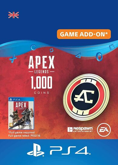 Apex Legends 1000 Apex Coins (PS4) (UK) PSN Key UNITED KINGDOM