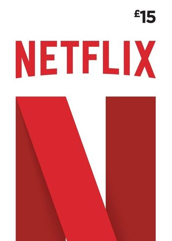Netflix Gift Card 15 GBP Key UNITED KINGDOM