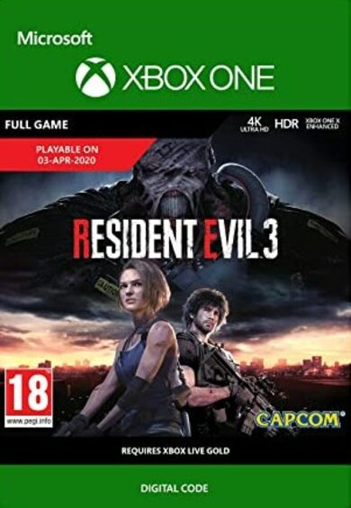 Resident Evil 3 (Xbox One) Xbox Live Key EUROPE
