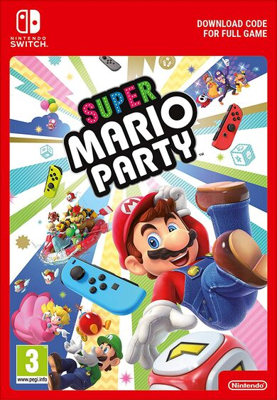 Super Mario Party (Nintendo Switch) eShop Clave EUROPA
