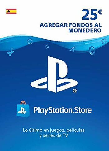 PlayStation Network Card 25 EUR (ES) PSN Key SPAIN