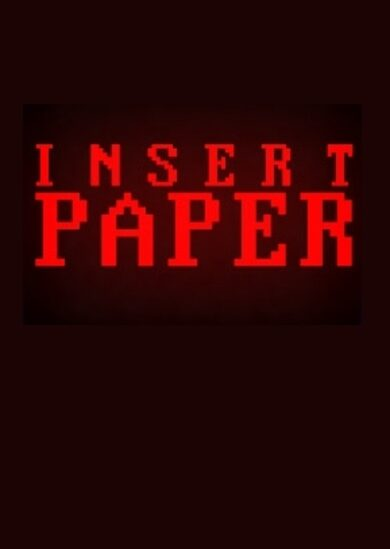 Insert Paper Steam Key GLOBAL