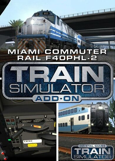 Train Simulator - Miami Commuter Rail F40PHL-2 Loco Add-On (DLC) Steam Key EUROPE
