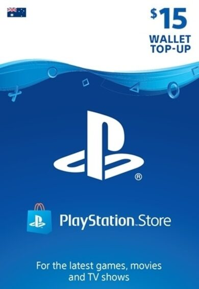 PlayStation Network Card 15 AUD (AU) PSN Key AUSTRALIA