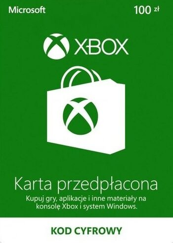 Xbox Live Gift Card 100 PLN Xbox Live Klucz POLAND