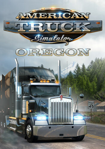 American Truck Simulator - Oregon (DLC) Steam Key GLOBAL