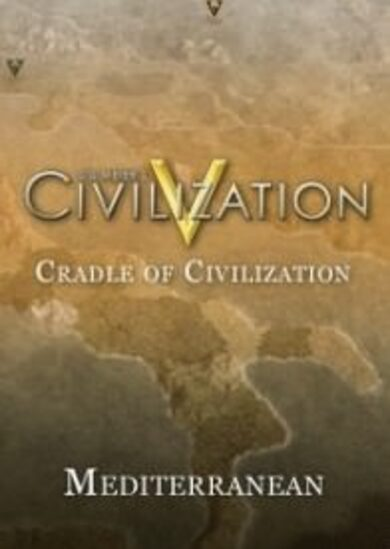 Sid Meier's Civilization V - Cradle of Civilization: Mediterranean (DLC) Steam Key EUROPE