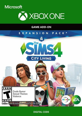 The Sims 4: City Living (DLC) (Xbox One) Xbox Live Key UNITED STATES