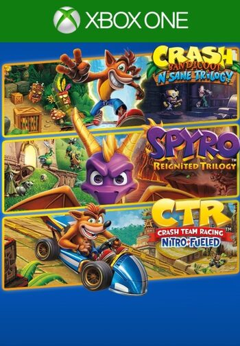 Crash + Spyro Triple Play Bundle (Xbox One) Xbox Live Key UNITED STATES