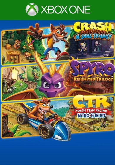 Crash + Spyro Triple Play Bundle (Xbox One) Xbox Live Key UNITED STATES