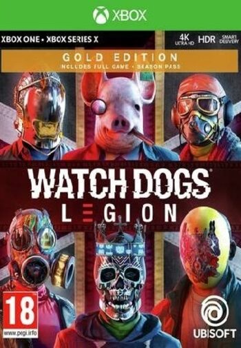 Watch Dogs: Legion Gold Edition (Xbox One) Xbox Live Key EUROPE