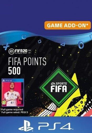 FIFA 20 - 500 FUT Points (PS4) PSN Key EUROPE