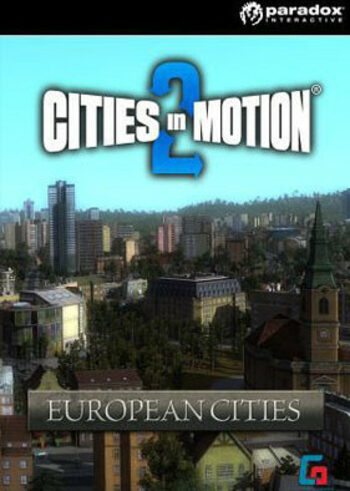 Cities in Motion 2 - European Cities (DLC) Steam Key GLOBAL