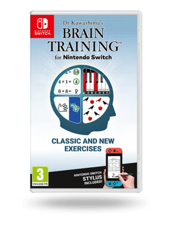 Dr Kawashima's Brain Training for Nintendo Switch Nintendo Switch
