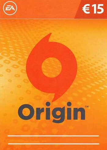 EA Origin Cash Card 15 EUR Origin Key EUROPE