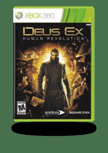 Deus Ex: Human Revolution Xbox 360