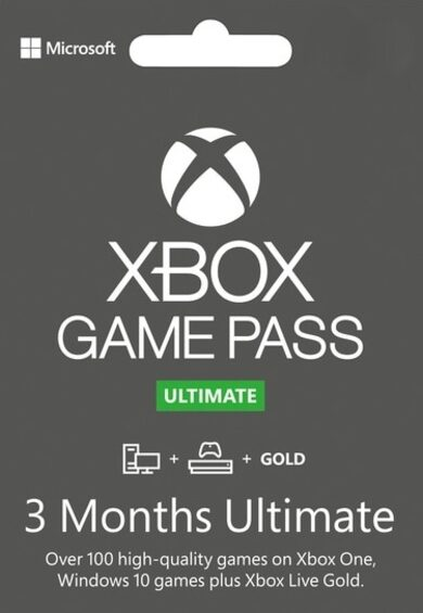 Xbox Game Pass Ultimate – 3 Month Subscription (Xbox One/ Windows 10) Xbox Live Key GLOBAL