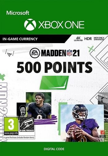 MADDEN NFL 21 - 500 Madden Points XBOX LIVE Key GLOBAL