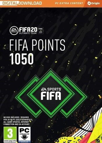 FIFA 20 - 1050 FUT Points Origin Key GLOBAL