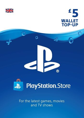 PlayStation Network Card 5 GBP (UK) PSN Key UNITED KINGDOM
