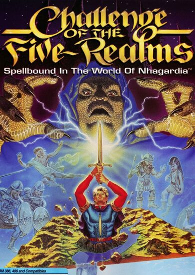 Challenge of the Five Realms: Spellbound in the World of Nhagardia Steam Key GLOBAL