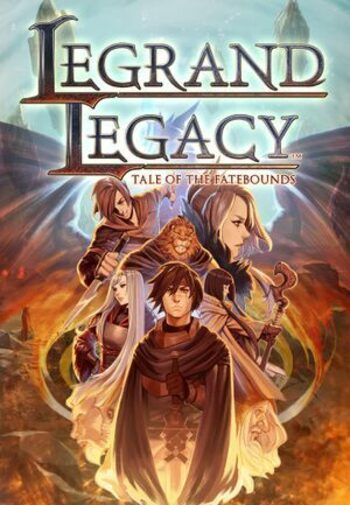 LEGRAND LEGACY: Tale of the Fatebounds Steam Key GLOBAL